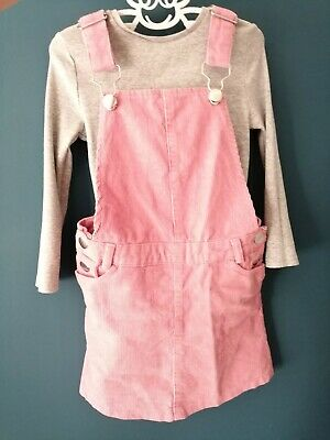 Girls Pink Summer Outfit Age 5 Pink Dress