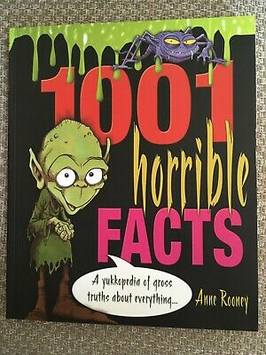 1001 Horrible Facts by Anne Rooney (Paperback, 2006)