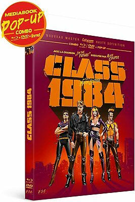 Class 1984 Combo Blu Ray + Dvd + Livret + Pop Up Neuf Sous Cellophane