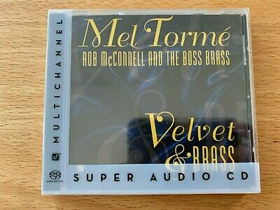 SACD Mel Torme, Rob McConnell and The Boss Brass - Velvet & Brass