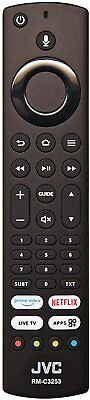 Genuine JVC RM-C3253 Remote Control for LT40CF890 Fire TV Edition Smart LED TV's