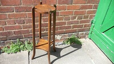 Vintage Art Deco Style Wooden Plant Stand