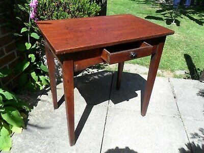 Antique Georgian Hall Table with drawer