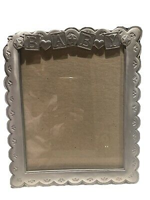 Silver Baby Photo Frame .