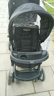 Graco Stadium Duo Tandem Pushchair - Black
