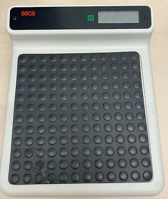 Seca Digital Flat Professional Medical Weighing Scales Mobile Use + Cary Case