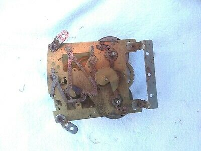 P Vintage Clock Movement Smiths Enfield Does Wind  9 X 11Cm