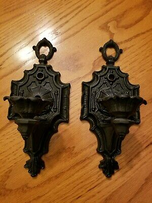 Pair Of Welsbach Sconces