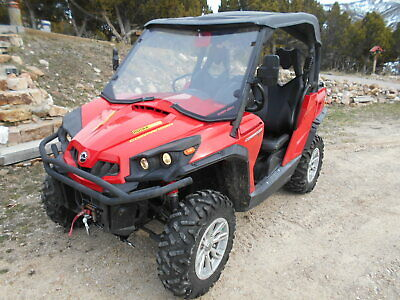 2014 CAN-AM COMMANDER 1000 XT, Red, winch, loaded, Low Miles.