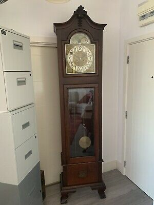 Antique Moonphase Longcase Grandfather Clock