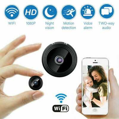 Mini Hidden Spy Camera Wireless Wifi IP HD 1080P DVR Night Vision House Security