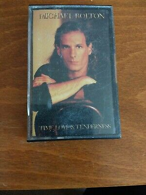 Michael Bolton Time Love And Tenderness Cassette Tape