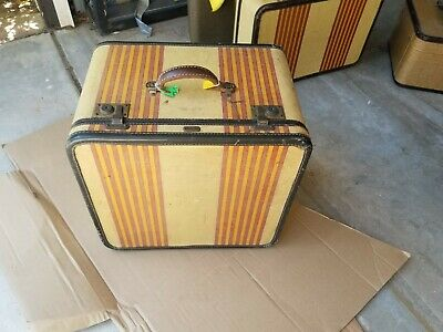 Oshkosh Chief Shoe Case Vintage Luggage