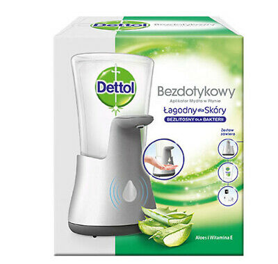 Dettol/ Sagrotan No-Touch Seifenspender ink Nachfüller Aloe Vera 250 ml