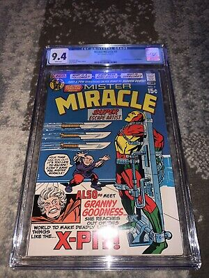 Mister Miracle #2 (Marvel 1971) CGC 9.4 1st Appearance Granny Goodness   New God