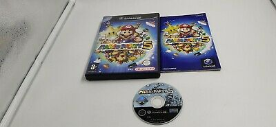 Jeu Nintendo Gamecube Game Cube Mario Party 5 complet