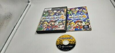 Jeu Nintendo Gamecube Game Cube Mario Party 4 complet