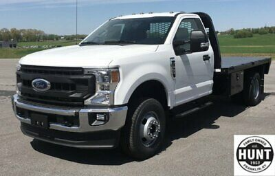 2020 Ford F-350 XL 2020 Ford Super Duty F-350 DRW XL 10 Miles Oxford White Regular Cab Chassis-Cab