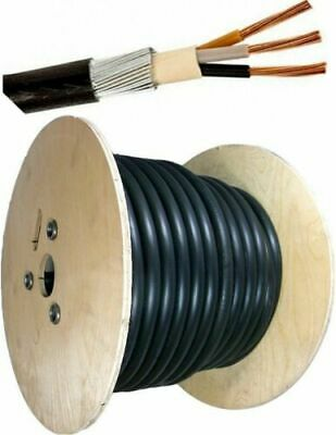 FANTASTIC 2.5mm SWA 6943X 3 CORE STEEL WIRE ARMOURED CABLE - 20 METRES