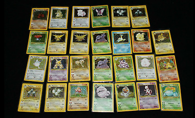 Pokemon Card Lot Vintage WOTC Pack! First Generation! Possible 1st Edit. Holo
