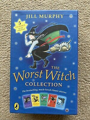 The Worst Witch Collection by Jill Murphy Paperback Box Set