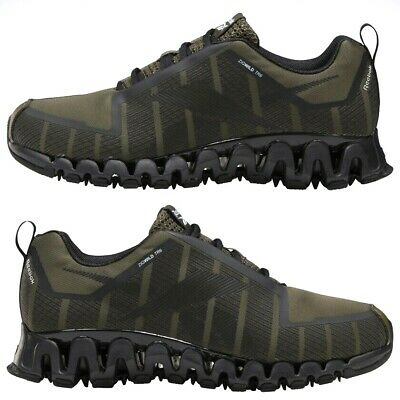 Reebok ZigWild Trail 6 Mens Running Sneakers Shoes Army Green Size 8 - 12 FX1435