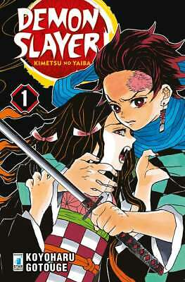 Manga - Star Comics - Demon Slayer 1 - Nuovo !!!