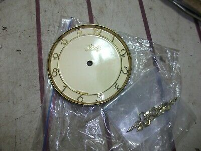 pink face plate and hands schutz 400 DAY ANNIVERSARY CLOCK, ,  PARTS, USED
