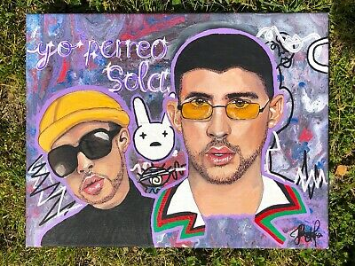 Painting Bad Bunny