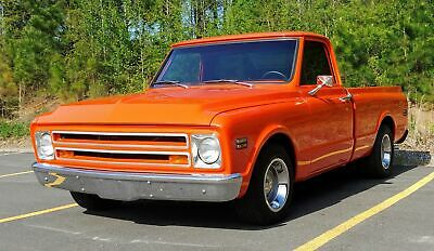 1968 Chevrolet C 10 Nicely Restored Chevrolet C 10 Orange with 0 Miles, for sale!