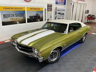 1971 Chevrolet Chevelle - NUMBERS MATCHING - SUPER SPORT TRIBUTE - GREAT C 1971 Chevrolet Chevelle, Green with 57,362 Miles available now!