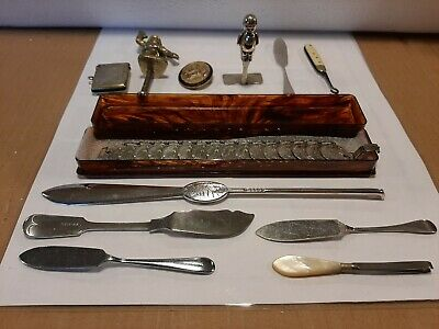 Job Lot Of 12 X Vintage Silver / Silver Plate Items