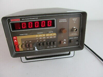 Keithley 614 Electrometer Triax Input, Tested, Working