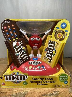 M & M's Candy Dish Remote Control Holder -NEW