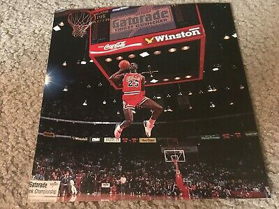 NIKE AIR JORDAN III Shoes Poster Print Ad 1988 MICHAEL JORDAN SLAM DUNK CONTEST