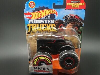 2020 Hot Wheels Monster Truck H.w.s.f. Hot Wheels Special Forces Case J 3/5
