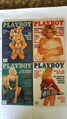 Playboy Magazine Full Year Set 1992. 12 Issues. Complete Collection. Nude Lot