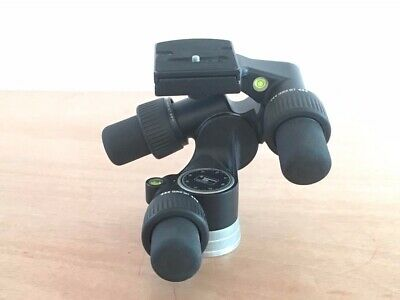 Manfrotto 405 Geared 3-Way Pan/Tilt Tripod Head in EXCELLENT Condition