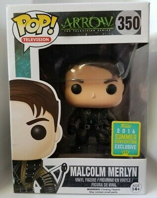 Funko Pop! Arrow Malcolm Merlyn-Summer Convention Exclusive