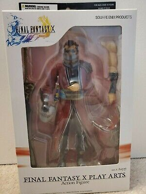 Final Fantasy X Play Arts Action Figure Auron (Mint Condition, Brand New)