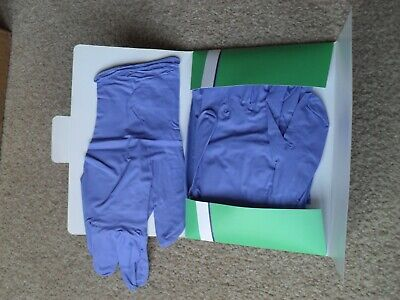 Nitrile Gloves Long Cuff - size Large
