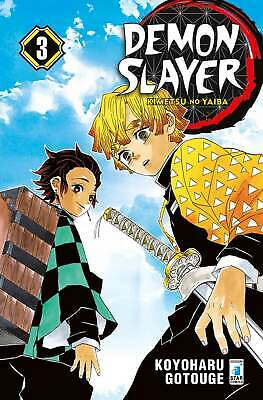 Manga - Star Comics - Demon Slayer 3 - Nuovo !!!