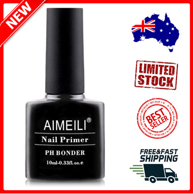 AIMEILI Nail Prep Bond Primer, UV LED Gel Foundation for Acrylic Powder NEW