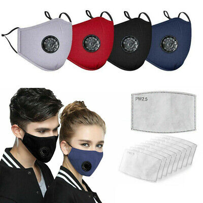 Reusable Washable Activated Carbon Filter With Respirator Filters Face Filters