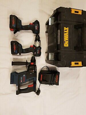 Bocsh 18V Tool Kit 3 Brushless Tools With 8Ah Batteries