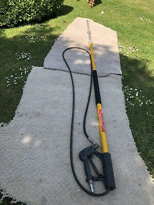 Expendable telescopic Sky Lance Pressure Washer , Window Cleaner. 4.7m