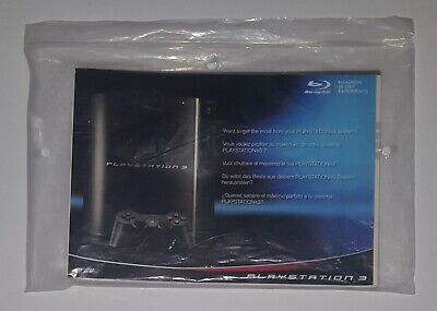 _( Manuali Replacement x Console Sony Playstation 3 Orig. Fat Ps3 40 60 80GB )_