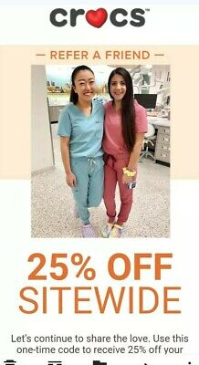 CROCS Coupon 25% Off Exp 06/30/2020 Use Online Or Instore