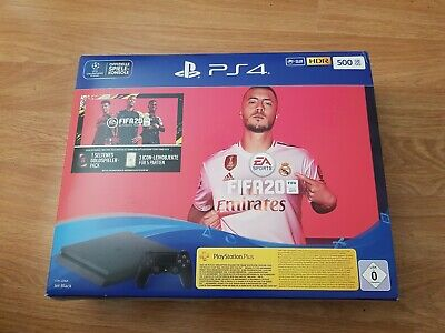 Sony PlayStation 4 500GB FIFA 20 Bundle - Jet Black New Unopened