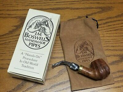 2013 Shotgun Shell J.M. Boswell Estate Pipe with box and sleeve -FREE SHIPPING